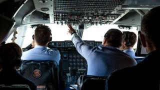 Кабина пилотов AirForce One