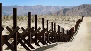 Граница США