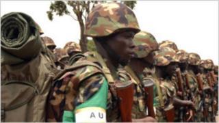 Abasirikare b'abarundi bari muri Somalia