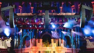 Royal Albert Hall speakers