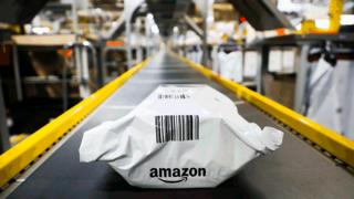 Amazon in row over plastic packaging