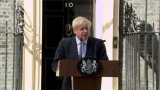 新首相约翰逊表示,他完全有信心在99天内解决脱欧问题-——在10月31日最后期限之前实现脱欧。