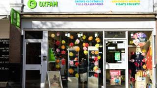 sports Oxfam shop