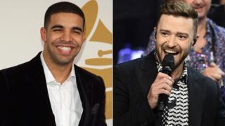 Drake and Justin Timberlake