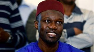 L'opposant sénégalais Ousmane Sonko