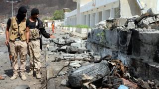 تنظيم الدولة أعلن مسؤوليته عن هجوم الشهر الماضي في عدن