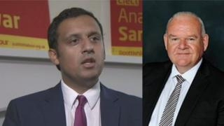 Anas Sarwar and Davie McLachlan