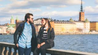 Pareja en Estocolmo