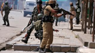 कश्मीर सुरक्षा