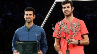 پیروزی مقابل جوکوویچ، چهارمین برد متوالی او مقابل ده مرد اول تنیس جهان در یک هفته اخیر بود