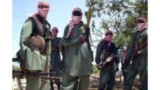 des membres du groupe islamiste Al-Shabaab