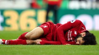 Mohamed Salah injured