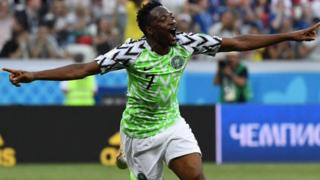 Ahmed Musa score di highest goals for last FIFA world cup.