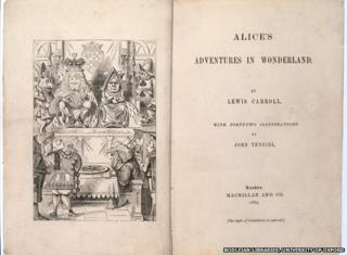 First edition of Alice's Adventures In Wonderland