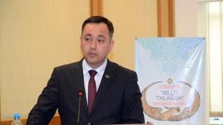 """""""Milliy tiklanish"""" partiyasi nomzodi Sarvar Otamuratov"""