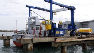 Vessels at Holyhead Boatyard Ltd