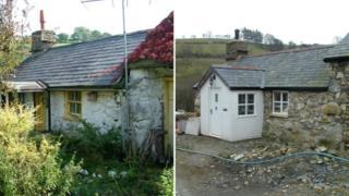 Ty'n y Ffridd cottage