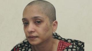 Picha ya Asma Aziz iliyopatikana kwenye video mtandaoni