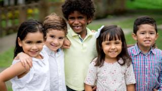 Колумбийские дети