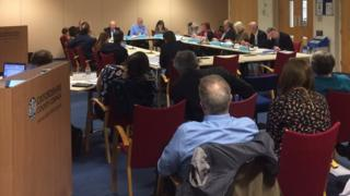 Oxfordshire County Council cabinet meeting