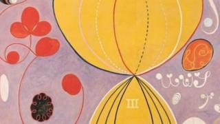 """在""""十大""""系列中,第四组第7号作品《成年》描绘人类四个时期,是克林特大型系列作品的一部分"""