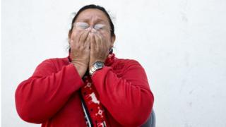 Anita Celaya, can be the representative of the Committee of Relatives of Migrants Died in addition to Disappeared (Cofamide) in El Salvador. She joined the organization after her son Rafael Alberto Rolin, disappeared while crossing Mexico on route to the US sixteen years ago. Photo: Encarni Pindado