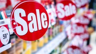 Sale in store