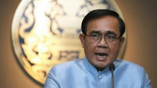ထိုင်း ဝန်ကြီးချုပ် ပရာရွတ် ချန်အိုချာ