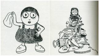 Ilustrações do livro Comunismo para Crianças
