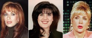Paula Jones, Monica Lewinsky, Gennifer Flowers