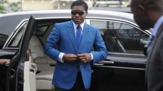 Ana zargin Mr Teodorin Obiang da laifin cin hanci da rashawa
