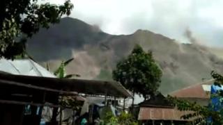 زلزالان قويان يهزان لومبوك الإندونيسية