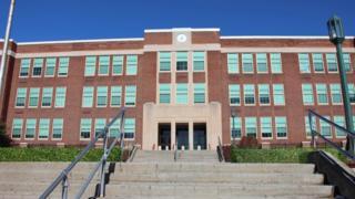 East Middle School in Binghamton, New York
