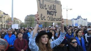 protest Budapest