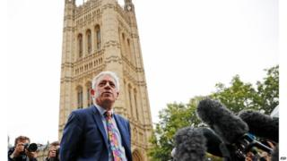 John Bercow will be chairing business in the Commons again