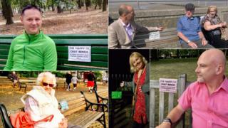 'Happy to Chat' benches: The woman getting strangers to talk
