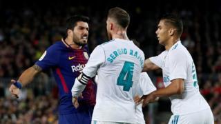 Suárez, Ramos y Marcelo se enfrentan.