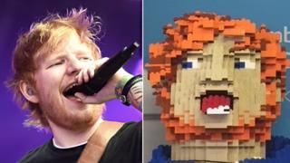 Ed Sheeran with Lego self