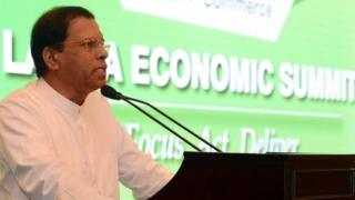 Sri Lankan President Maithripala Sirisena (02 August 2016)