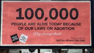Both Lives Matter billboard