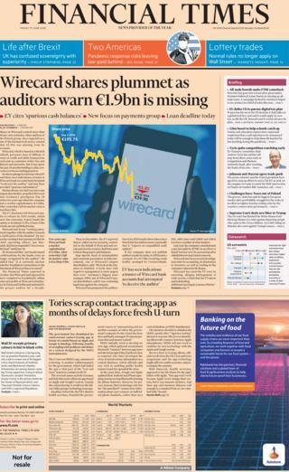 Financial Times 19 June