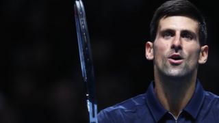 Novak Djokovic a battu en deux manches le Belge David Goffin.