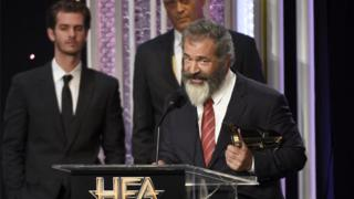 Mel Gibson at Hollywood Film Awards