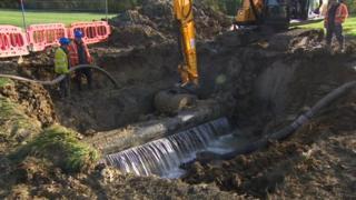 Burst pipe Cheltenham