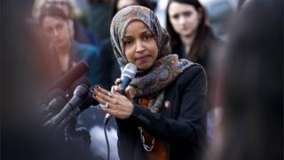 Democratic Representative from Minnesota Ilhan Omar