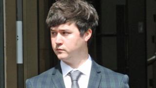 Jordan Kenvyn outside court