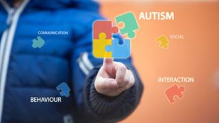 A graphic about autism