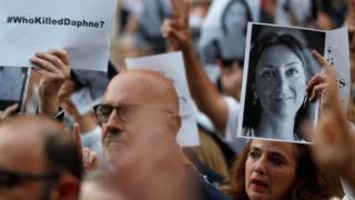 Rally for Caruana Galizia in Valletta, 16 Jun 18