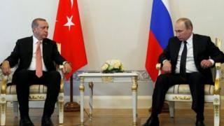 Prezident Putin vа Prezident Erdo'g'onning uchrаshuvi