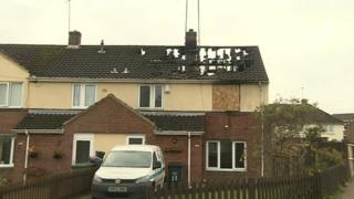 Brixham Walk chip pan fire death
